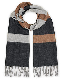 Norse Projects Norse x Begg & Co Scarf Madder Brown