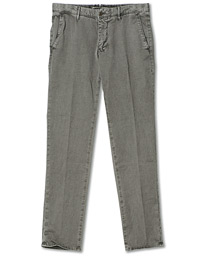 Slim Fit Garment Dyed Slacks Grey