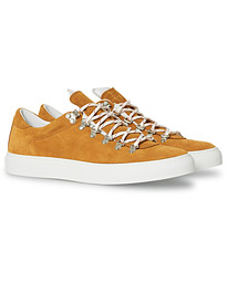 Marostica Low Sneaker Golden Brown Suede