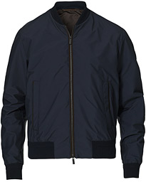 Stratos Waterrepellent Bomber Jacket Navy