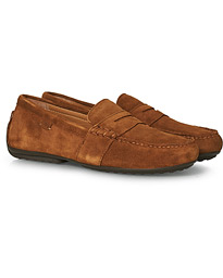 Reynold Driving Loafer Snuff Suede