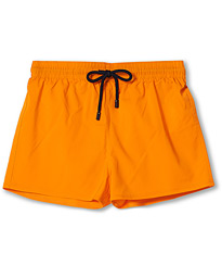Man Plain Swim Shorts Orange