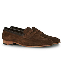 Darwin Loafer Dark Brown Suede