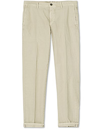 Easy Fit Selvedge Cotton Chinos Desert Khaki