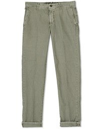 Easy Fit Selvedge Cotton Chinos Stone Grey