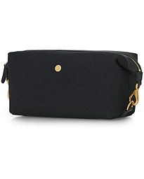 M/S Canvas Washbag Coal/Black