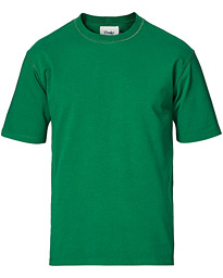 Cotton Crew Neck Hiking Tee Forest Green