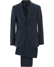 Edmund Wool Suit Navy