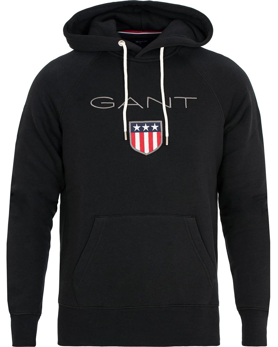 GANT Shield Hoodie Black XS