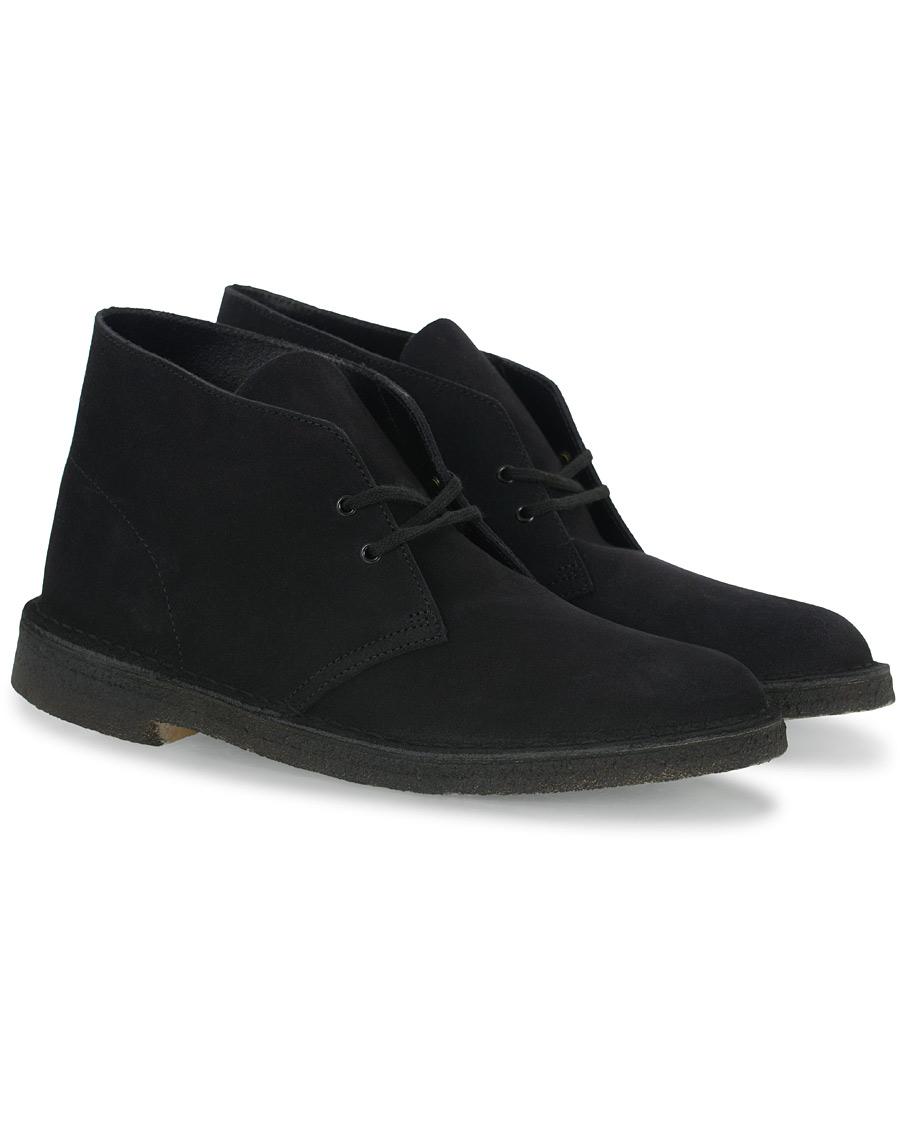 Clarks Originals Desert Boot Black Suede UK6 EU39,5