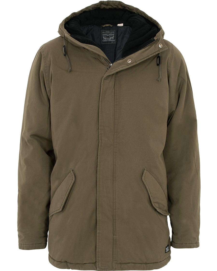 Levi's Thermore Padded Parka Olive Night S