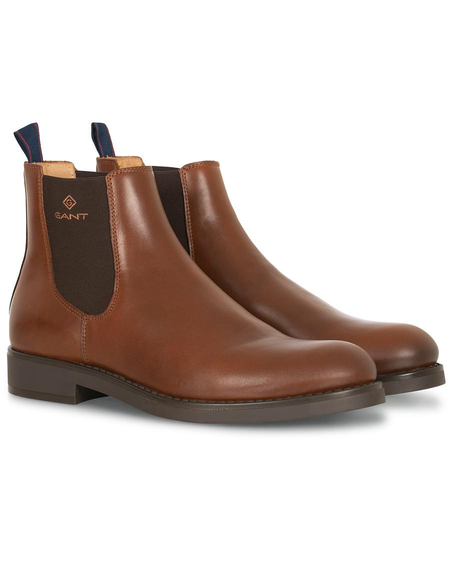 GANT Oscar Chelsea Boot Cognac Calf 40