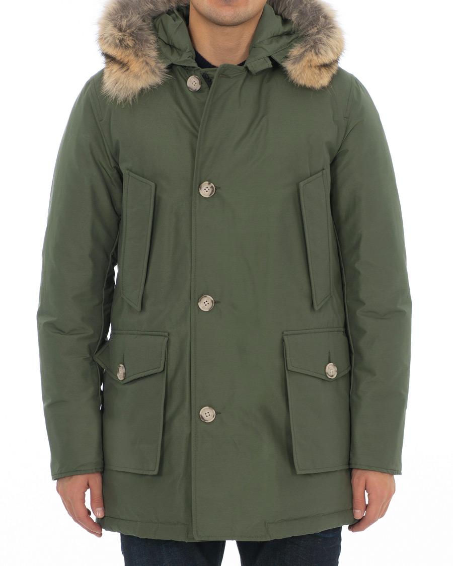 Woolrich Arctic Parka DF Green S