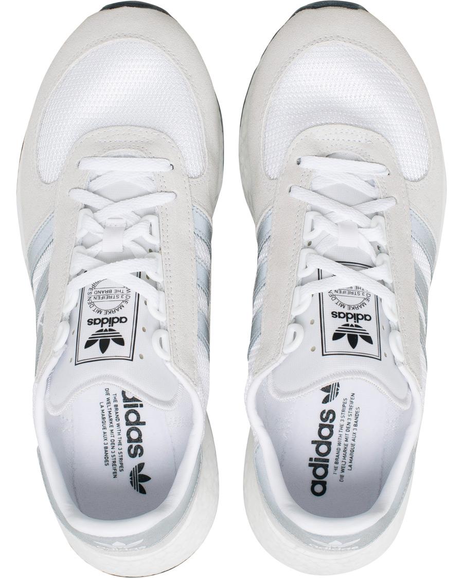 adidas originals Sneaker Mesh Veloursleder Details Streifen